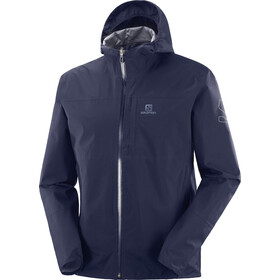 Salomon Outrack Waterproof Jacket Men, night sky